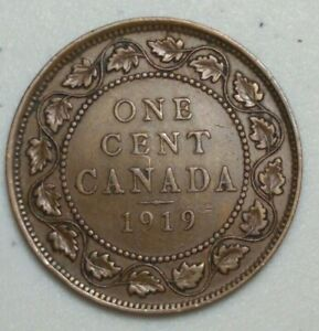 1919 CANADA LARGE CENT KING GEORGE CH1003
