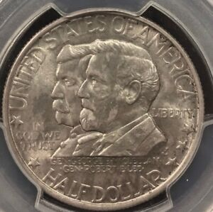 1937 ANTIETAM COMMEMORATIVE HALF DOLLAR PCGS MS64
