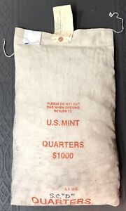 Click now to see the BUY IT NOW Price! $1 000 FAVE VALUE MINT SEWN BAG OF 2000 D SOUTH CAROLINA STATE QUARTERS.