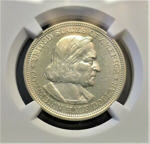 Click now to see the BUY IT NOW Price! 1893 COLUMBIAN EXPOSITION HALF DOLLAR NGC MS 61 PL SILVER 50C PROOF??