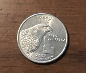 2007 P IDAHO 50 STATES QUARTER  BUY 6 GET 40  OFF  0810