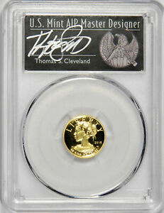 2018 W $10 GOLD LIBERTY PCGS PR70 FIRST DAY ISSUE SIGNED CLEVELAND HIGH RELEIF