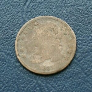 1831 BUST DIME  ABOUT GOOD DETAILS