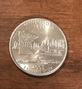 2005 D MINNESOTA STATE QUARTER  BUY 6 GET 40  OFF  0814