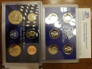 2000 S UNITED STATES MINT PROOF  10  COIN SET W/ BOX