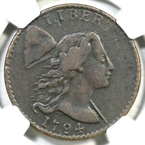 Click now to see the BUY IT NOW Price! 1794 NC 8 R 8  NGC VF 30 LIBERTY CAP LARGE CENT COIN 1C