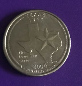 2004 P TEXAS 50 STATES QUARTER   1011  BUY 6 GET 40  OFF