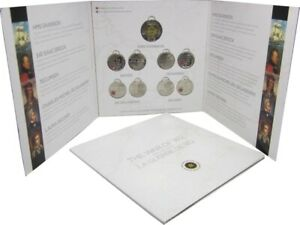 CANADA 2012 THE WAR OF 1812  SET OF 9 COINS IN ROYAL CANADIAN MINT ALBUM