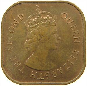 MALAYSIA 1 CENT 1961 TOP S21 561