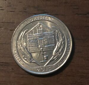 2015 D HOMESTEAD NP AMERICA THE BEAUTIFUL QUARTER  BUY 20 GET 50  OFF  1020
