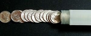 Click now to see the BUY IT NOW Price! 1942 D MERCURY DIME BU ROLL