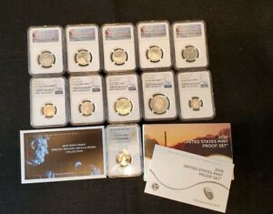 Click now to see the BUY IT NOW Price! 2019 S PROOF 11 COIN SET NGC PF70 2019 W CENT FIRST RELEASE COMPLETE SET   LOT B