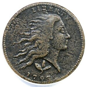 Click now to see the BUY IT NOW Price! 1793 S 7 R 6  ANACS F 12 DETAILS WREATH LARGE CENT COIN 1C