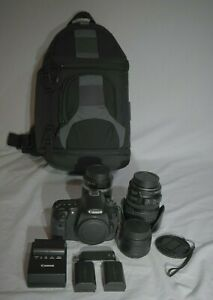 CANON EOS 60D 18.0MP DSLR CAMERA BUNDLE