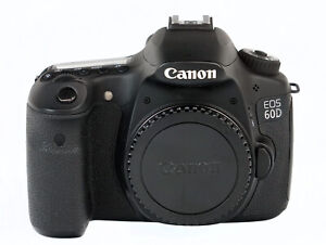 CANON EOS 60D 18.0 MP DIGITAL SLR CAMERA BODY W/ LOWEPRO BAG