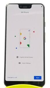 GOOGLE PIXEL 3 XL 64GB JUST BLACK G013C  UNLOCKED  GSM WORLD PHONE VG9628