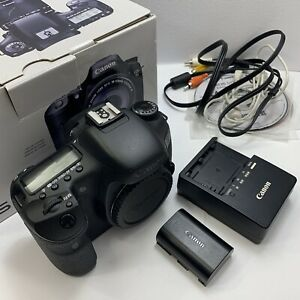 CANON EOS 7D 18MP DIGITAL SLR CAMERA BODY ONLY