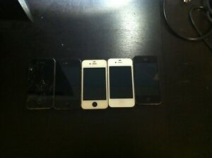 LOT OF IPHONE 4S