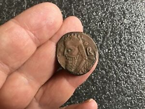 UNIFACE ELECTROTYPE ROMAN GREEK COIN ANCIENT 27MM IN DIAMETER