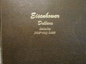 COMPLETE SET PDS & SILVER PROOFS 1971 1978 EISENHOWER DOLLARS   {TOTAL 35 COINS}