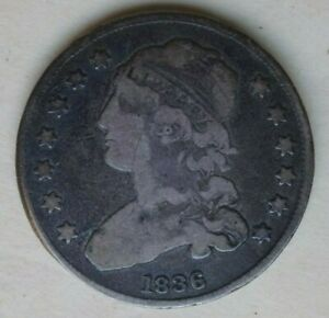 NICE 1836 CAPPED BUST QUARTER