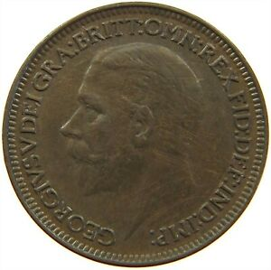 GREAT BRITAIN FARTHING 1932 S24 221