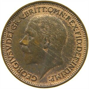 GREAT BRITAIN FARTHING 1935 S19 469