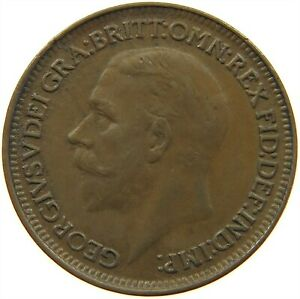 GREAT BRITAIN FARTHING 1930 S19 399