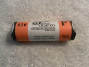 U.S. MINT 2007 P WASHINGTON STATE QUARTER ROLL