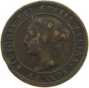 CANADA LARGE CENT 1882 H S8 037