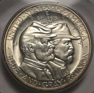 Click now to see the BUY IT NOW Price! 1936 GETTYSBURG COMMEMORATIVE HALF PCGS MS 65 RATTLER STUNNING ORIGINAL GEM