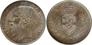 Click now to see the BUY IT NOW Price! 1894 BELGIAN CONGO 2 FRANCS ICG AU58
