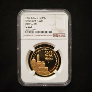 Click now to see the BUY IT NOW Price! ISRAEL JERUSALEM OF GOLD TOWER OF KING DAVID GOLD BULLION 2010 1OZ GOLD NGC 69