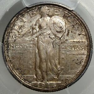Click now to see the BUY IT NOW Price! 1916 STANDING LIBERTY QUARTER AMAZING ORIGINAL SURVIVOR PCGS CERTIFIED KEY DATE