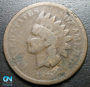 1872 INDIAN HEAD CENT PENNY      MAKE US AN OFFER   P7307