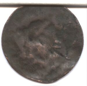 1835 LARGE CENT   SPLIT PLANCHET ERROR   LY  ERROR TYPE     OBVERSE