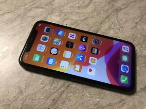 APPLE IPHONE 11 64GB AT&T CRACKED FRONT CHECK IMEI STATUS  FOR PARTS A19