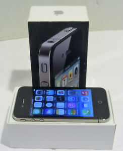 APPLE IPHONE 4   8GB   BLACK  AT&T  A1332  GSM    CLEAR IMEI