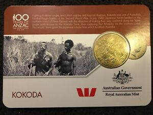 2016 KOKODA   ANZAC COIN   ANZAC TO AFGHANISTAN 25 CENT COIN FROM AUSTRALIA