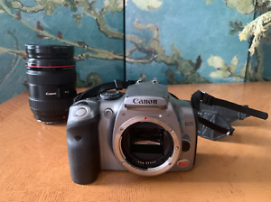 CANON EOS DIGITAL REBEL / EOS 300D 6.3MP DIGITAL SLR CAMERA   SILVER