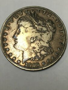 1885   P  $1 MORGAN SILVER DOLLAR