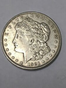 1921   D $1 MORGAN SILVER DOLLAR
