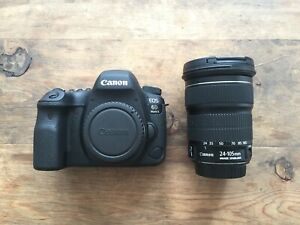 CANON EOS 6D MARK II DSLR CAMERA WITH EF 24 105MM F/4L IS II USM KIT   WARRANTY