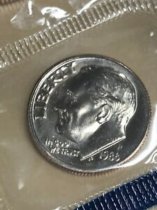 1986 P ROOSEVELT DIME   UNCIRCULATED  226