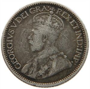 CANADA 10 CENTS 1912 S13 541