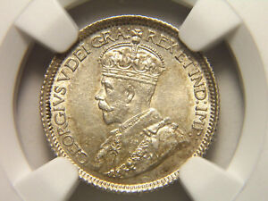 1914 CANADA TEN CENTS 10C MS 63 NGC UNCIRCULATED