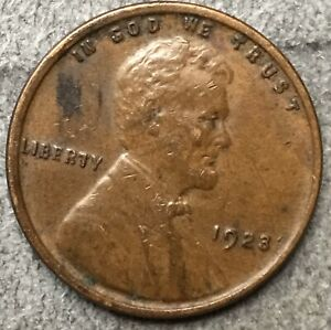 1923 P  LINCOLN WHEAT CENT PENNY   HIGH GRADE DETAILS   FREE SHIP. A548