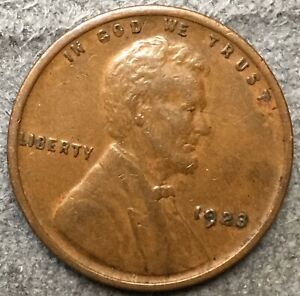 1923 P  LINCOLN WHEAT CENT PENNY   HIGH GRADE   FREE SHIP. A554