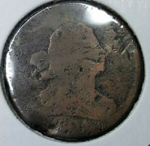 1804      DRAPED BUST HALF CENT  AG CONDITION RED BOOK VALUE $40.00 SALE