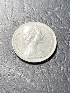 1966 AUSTRALIAN 5 CENT COIN   FIRST YEAR OF DECIMAL COINS